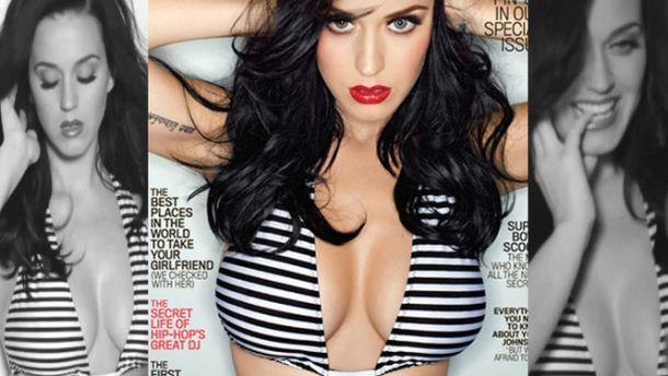Katy Perry posa sensual para la revista GQ