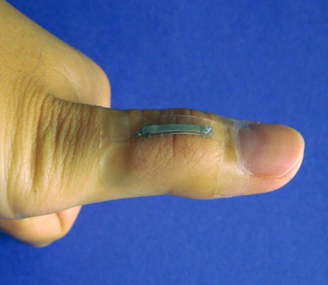 sensor en dedo