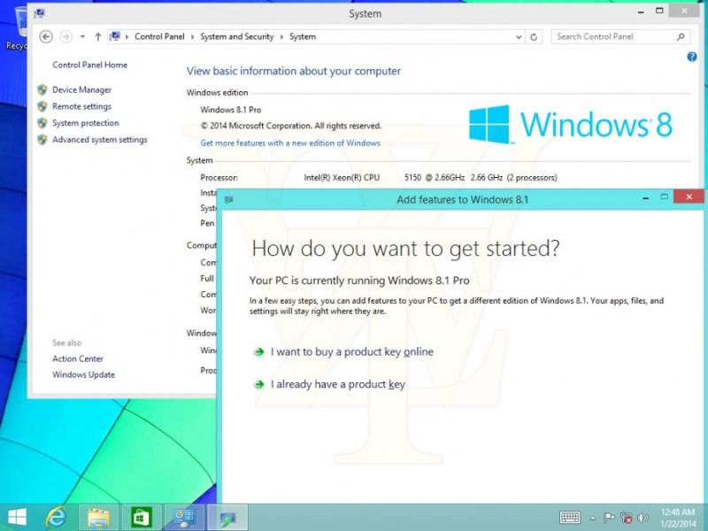 Imágenes de Windows 8.1 Update 1