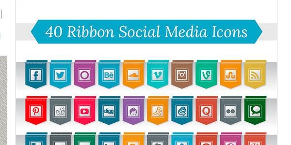 Iconos sociales para WordPress