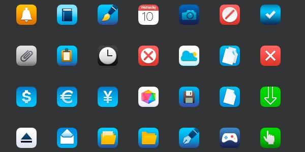 iconos iOS7