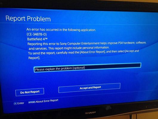 error ps4 Fallo con PlayStation 4: corrupción de datos del disco