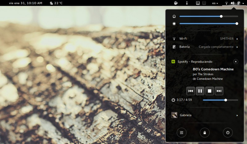 extensiones para gnome shell 3.8