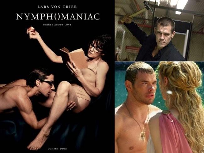 Fotos de Nymphomaniac, Oldboy y Hercules