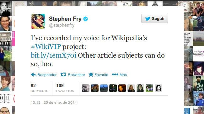 Tweet de Stephen Fray