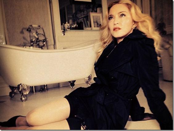 La imagen que Madonna ha colgado en su cuenta de Instagram hablando de #MDNASKIN