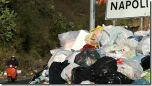 La mafia ha controlado el desecho de residuos en Nápoles durante años.