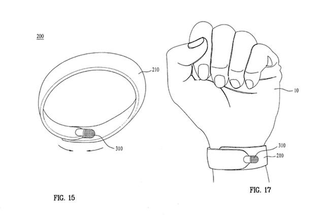 Patente LG stylus-smartwatch 02