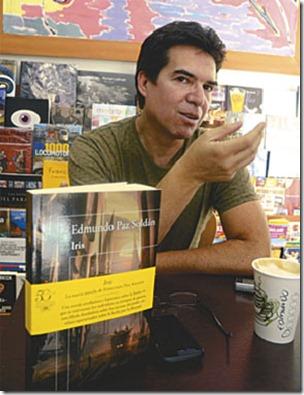 Paz Soldán presentará su novela en España, Perú, Chile y Argentina en los próximos meses