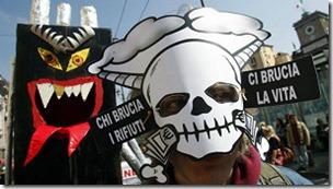 Se cree que los residuos tóxicos están vinculados con el aumento del cáncer en la zona.