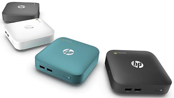 El primer Chromebox de HP estará disponible antes de mediados de año