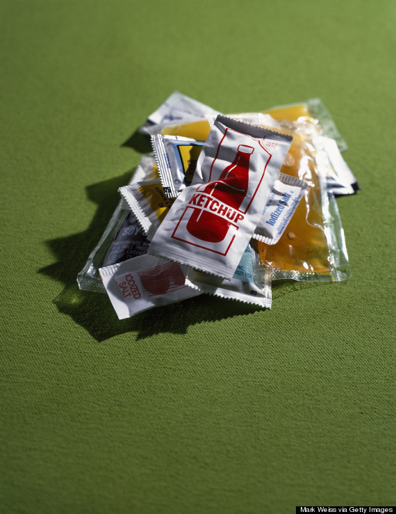 ketchup packets