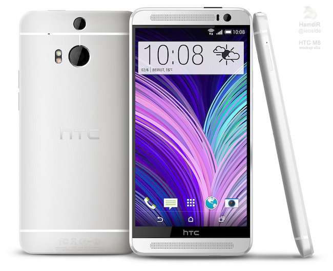 render htc one 2 01