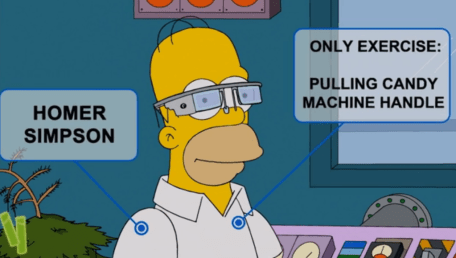simpsons Oogle Goggles 1024x579 Los Simpsons estrenan Google Glass en su último episodio