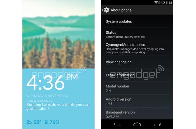 Así es como luce el nuevo CyanogenMod OS en el 'perfecto' OnePlus One