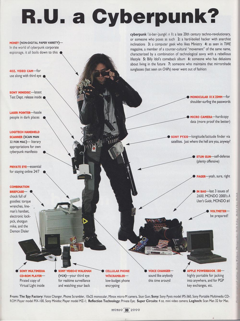 Que si eres Ciberpunk