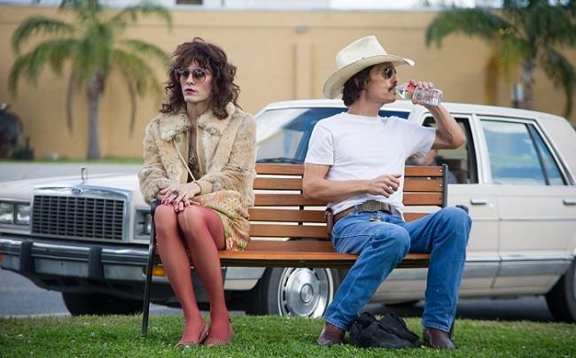 Los protagonistas de 'Dallas Buyers Club'