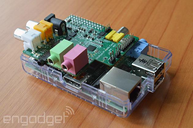 Raspberry Pi tiene ya su propia tarjeta de sonido