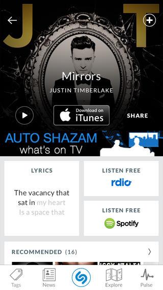Shazam se vuelve más social y atractivo en su última actualización para iOS