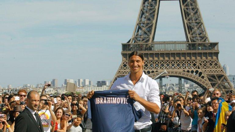 Zlatan Ibrahimovic inició la revolución qatarí de inversiones en el PSG