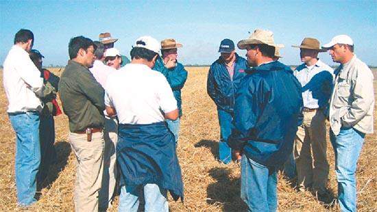 Intercambio de experiencias entre productores ganaderos cruceños
