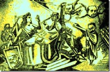 Caricatura del Tratado de 1904