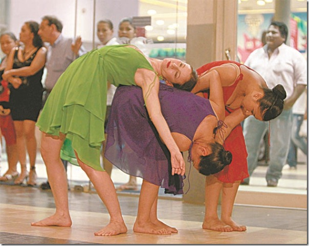 La Escuela de Danza Corporalia estará presente mañana en el barrio