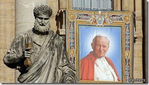 La canonización de Juan Pablo II fue la más rápida de la Iglesia moderna.