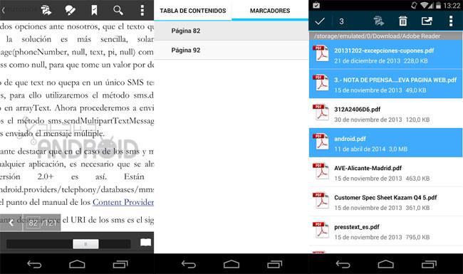 Adobe Reader 11.2 para Android