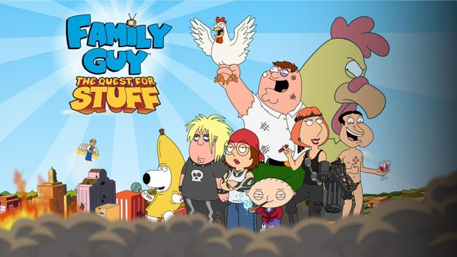 Family Guy: En búsqueda de cosas