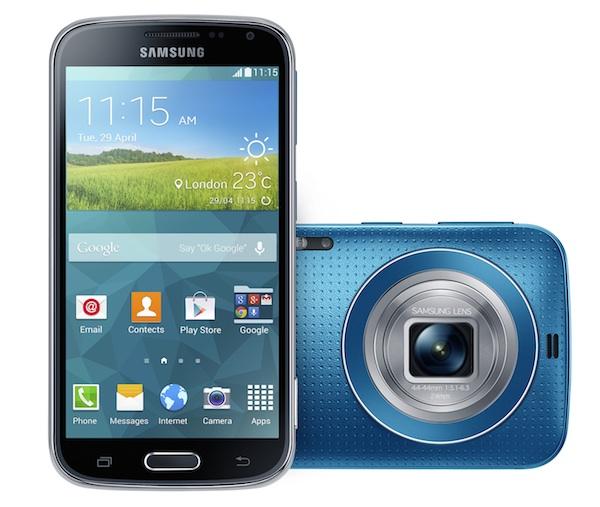 Samsung Galaxy K zoom, la cámara vuelve a ser la reina de la fiesta