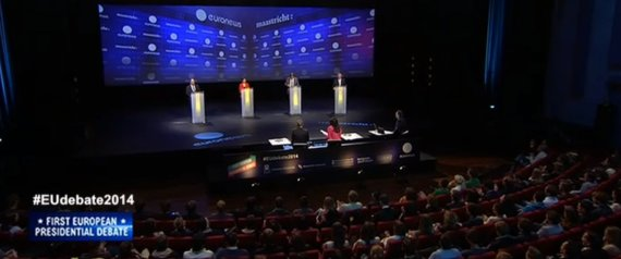 candidatos europeos debate