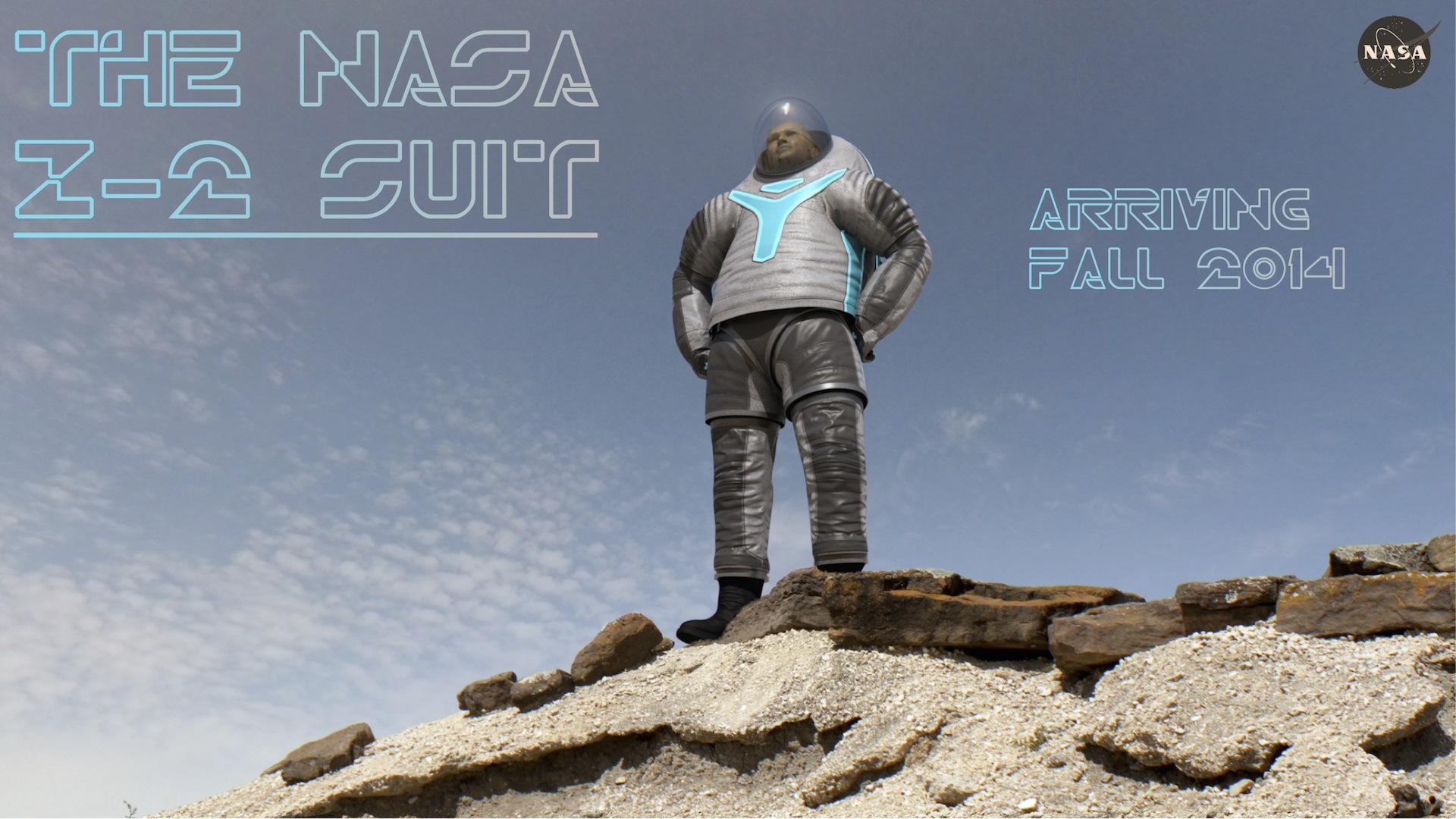 nasa traje espacial
