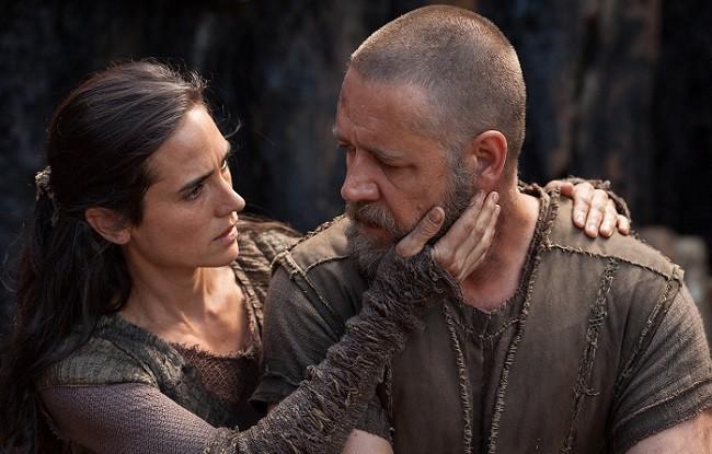Russell Crowe y Jennifer Connelly en 'Noé'