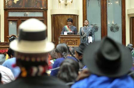 Evo-Morales-es-el-presidente-peor-pagado-de-la-region,-segun-el-Gobierno