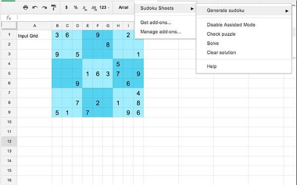 sudoku sheets
