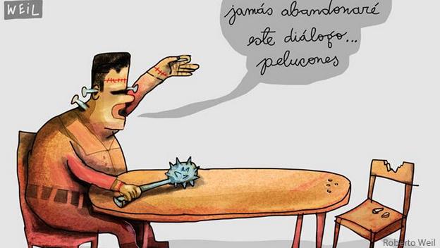 Caricatura de Roberto Weil