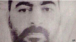 Abu Bakr al Baghdadi (foto distribuida por el Ministerio del Interior de Irak)