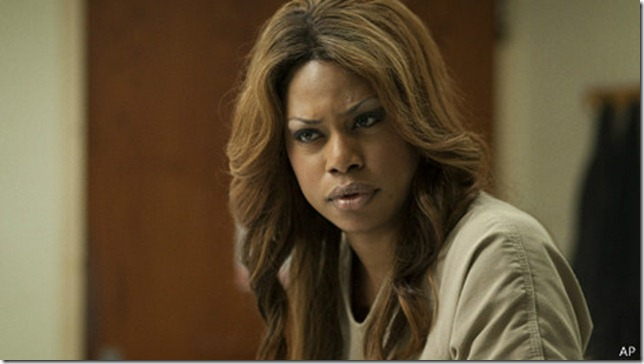 En Orange is the new black Laverne Cox da vida a Sophia Burset.