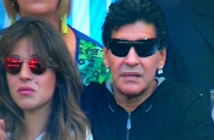 Maradona-iran