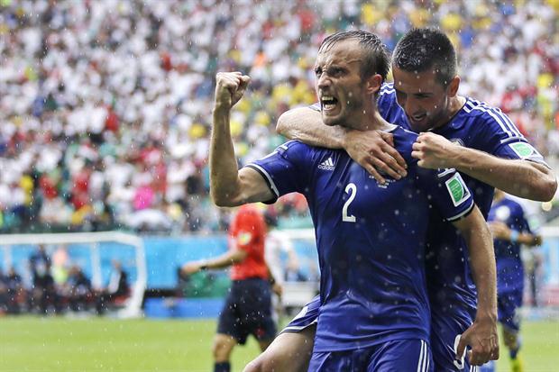 Bosnia dejó afuera a Irán del Mundial.  Foto:AP
