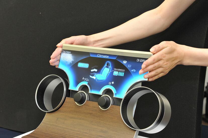 Sharp nos muestra cómo serán las pantallas de nuestro futuro próximo