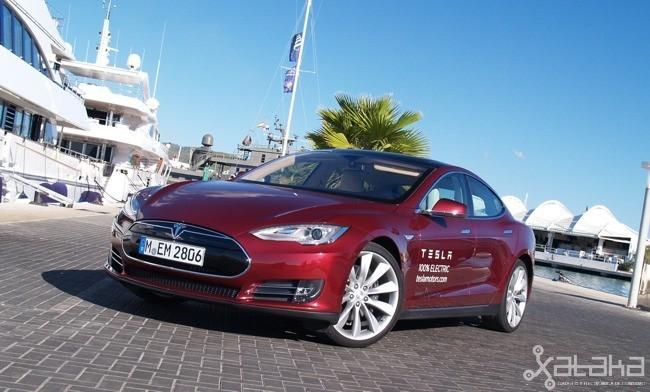 tesla Model S coche eléctrico