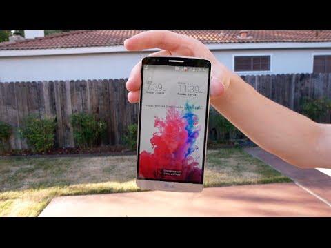 0 Descubre la (poca) resistencia del LG G3 en este vídeo