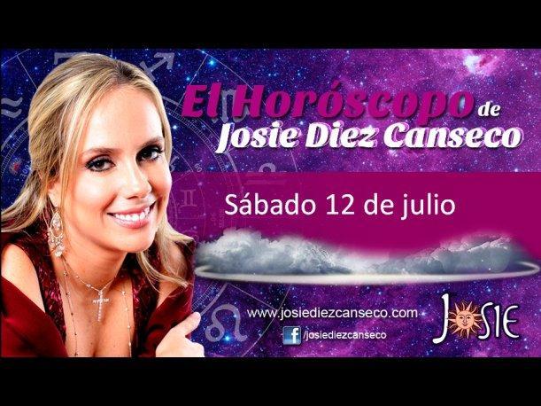 Josie Diez Canseco: Horóscopo del sábado 12 de julio (VIDEO)
