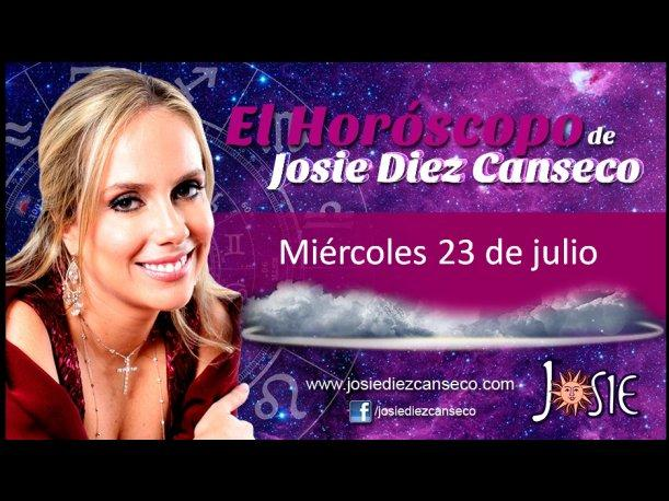 Josie Diez Canseco: Horóscopo del miércoles 23 de julio (VIDEO)
