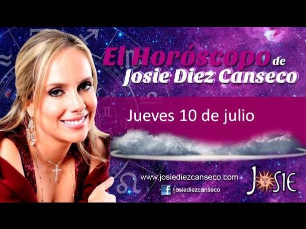 Josie Diez Canseco: Horóscopo del jueves 10 de julio (VIDEO)