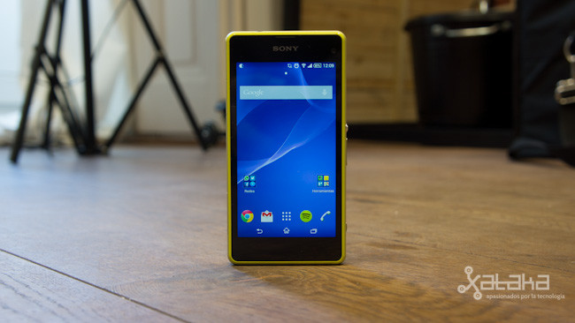 Sony Xperia Z1 Compact Frontal