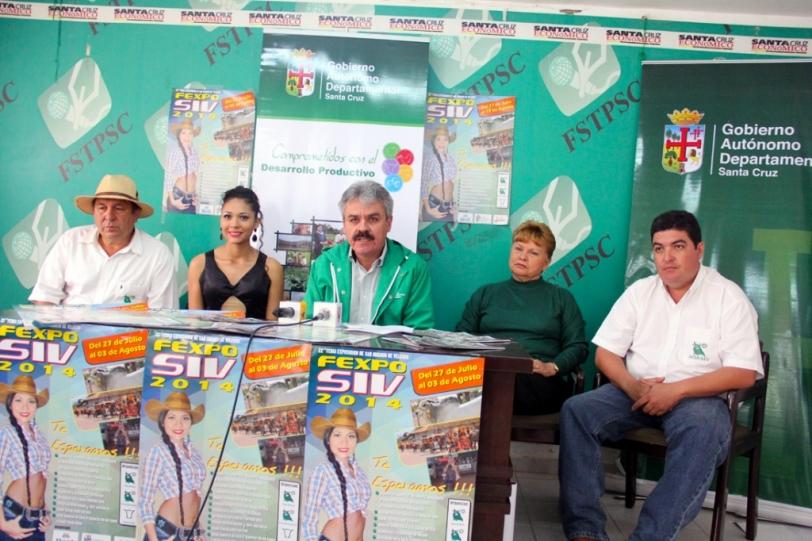Ignacianos invitan a la feria ganadera más grande la Chiquitanía Fexposiv 2014