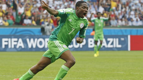 Ahmed Musa de Nigeria   EFE